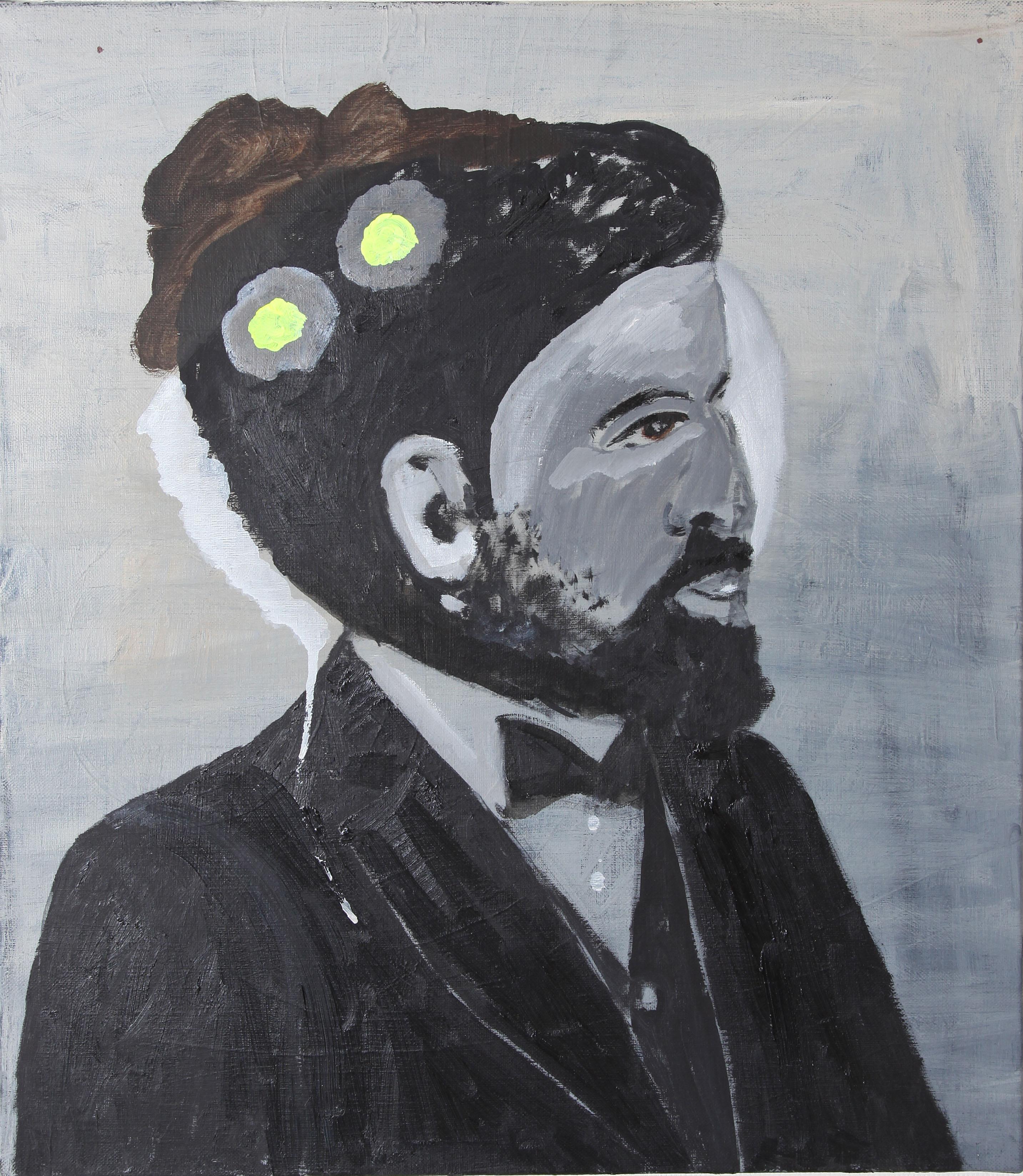 Right & Left Brain 2012   oil on canvas