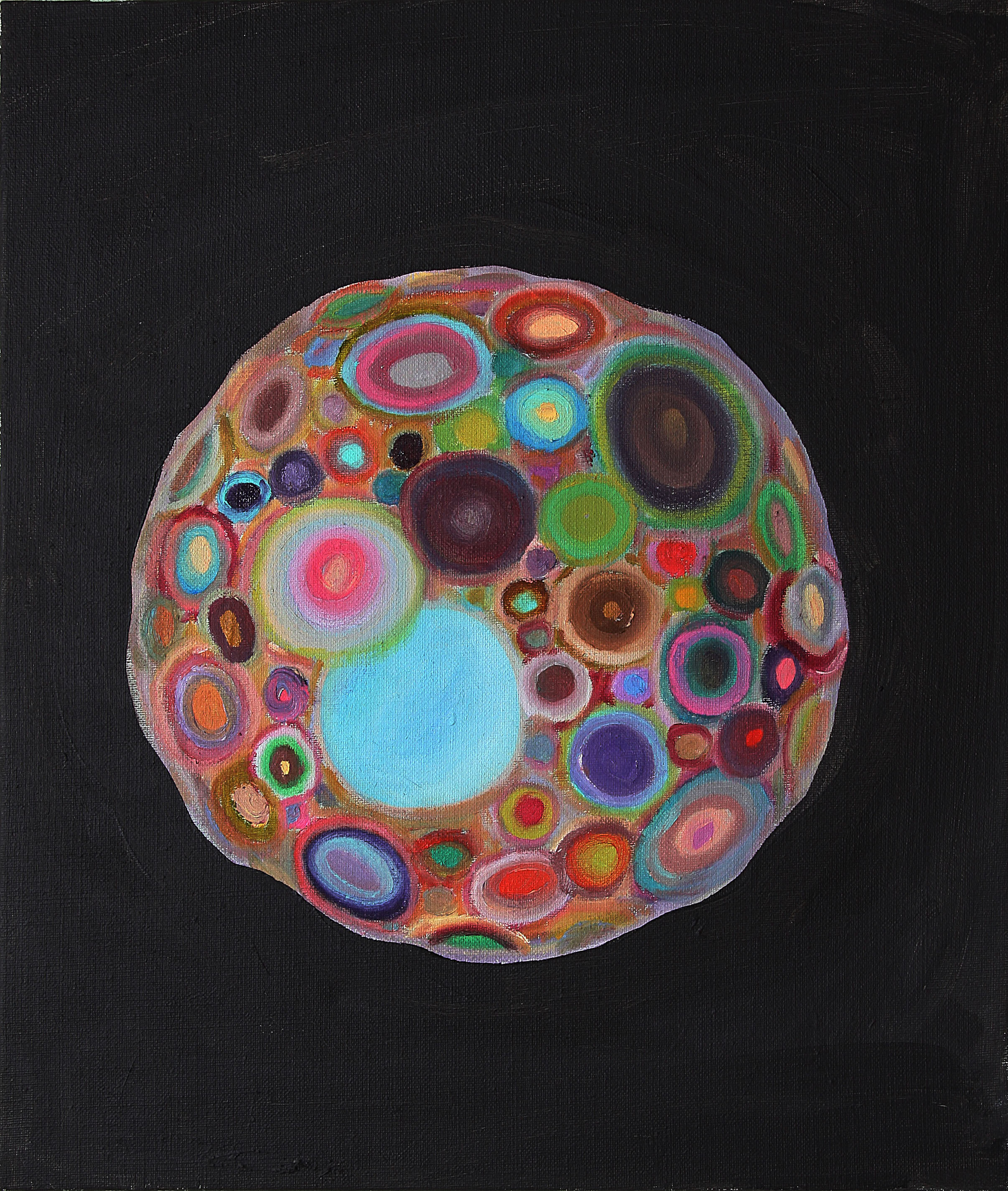Planet 2012  oil on canvas