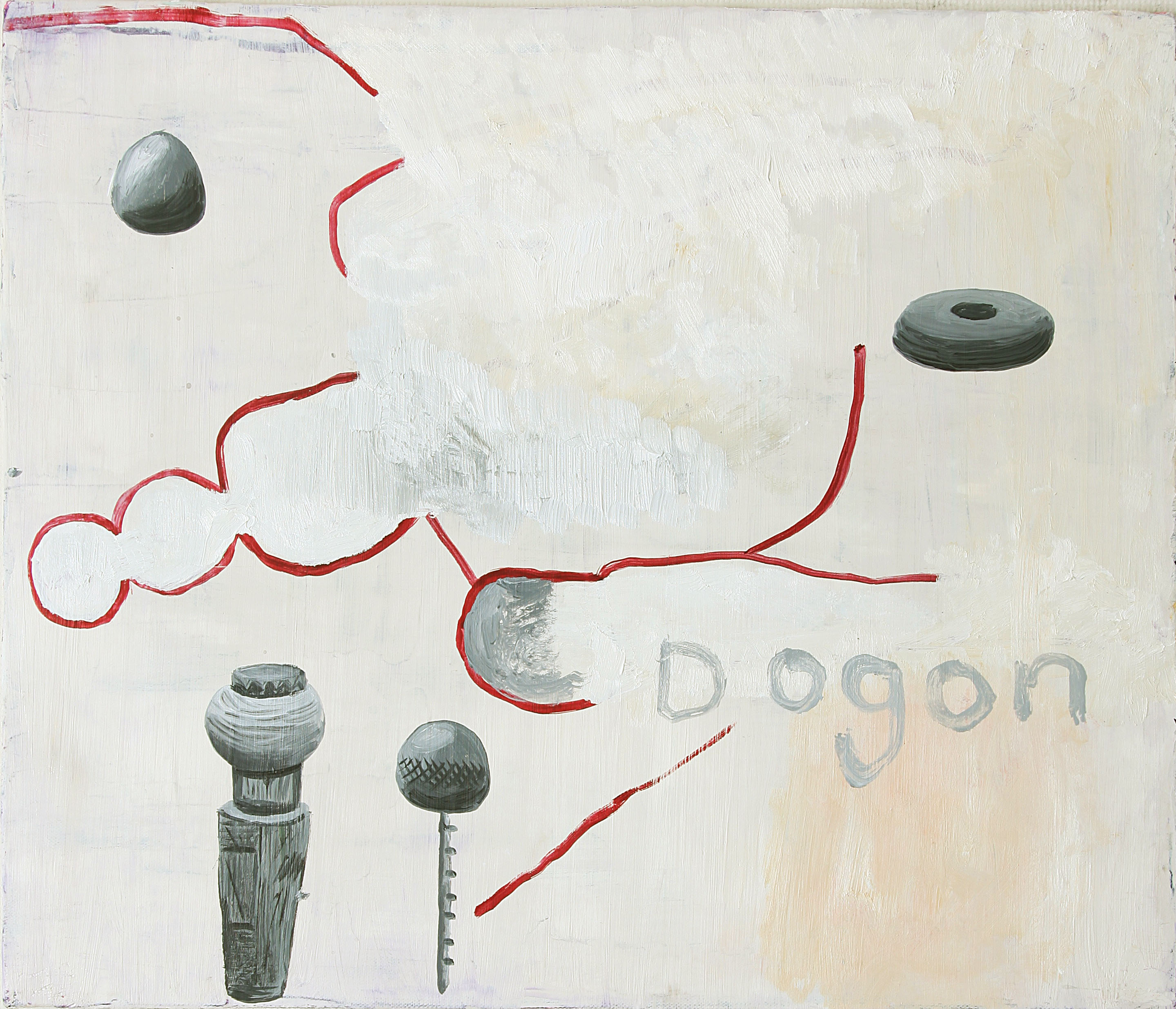 Dogon 2012    oil on canvas