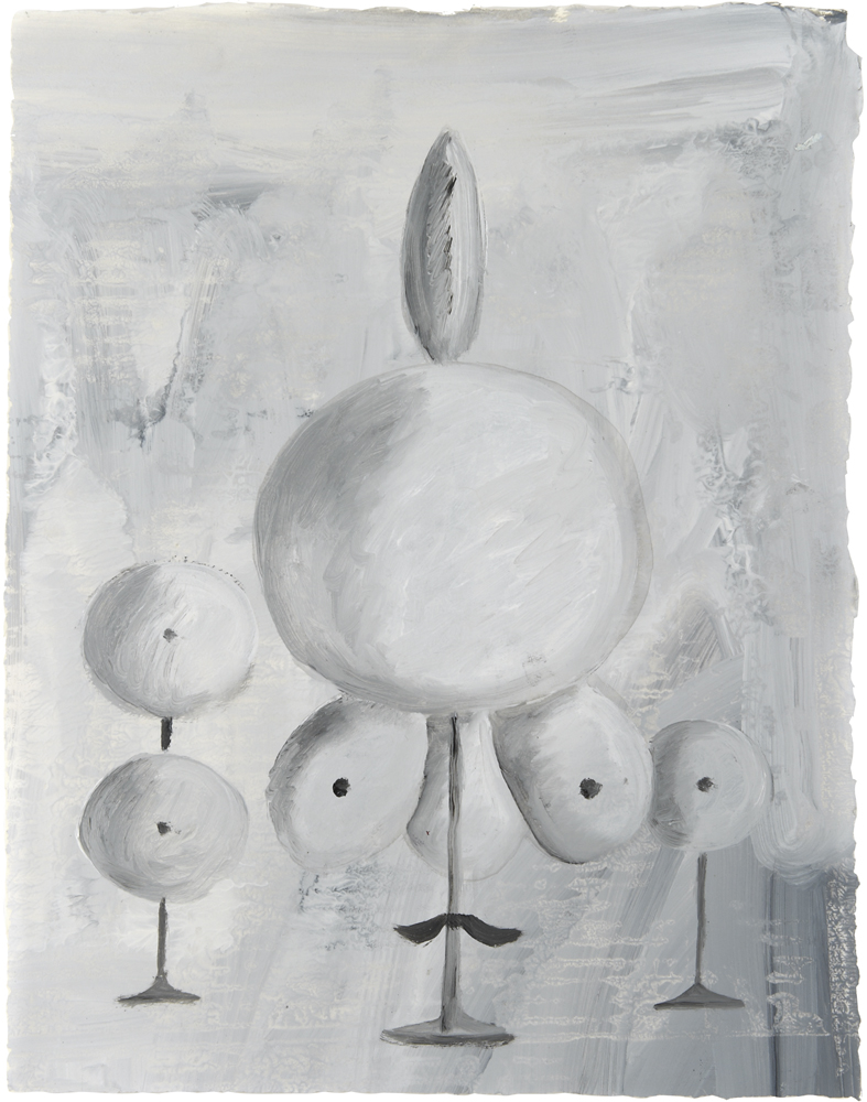 2011  oil on paper