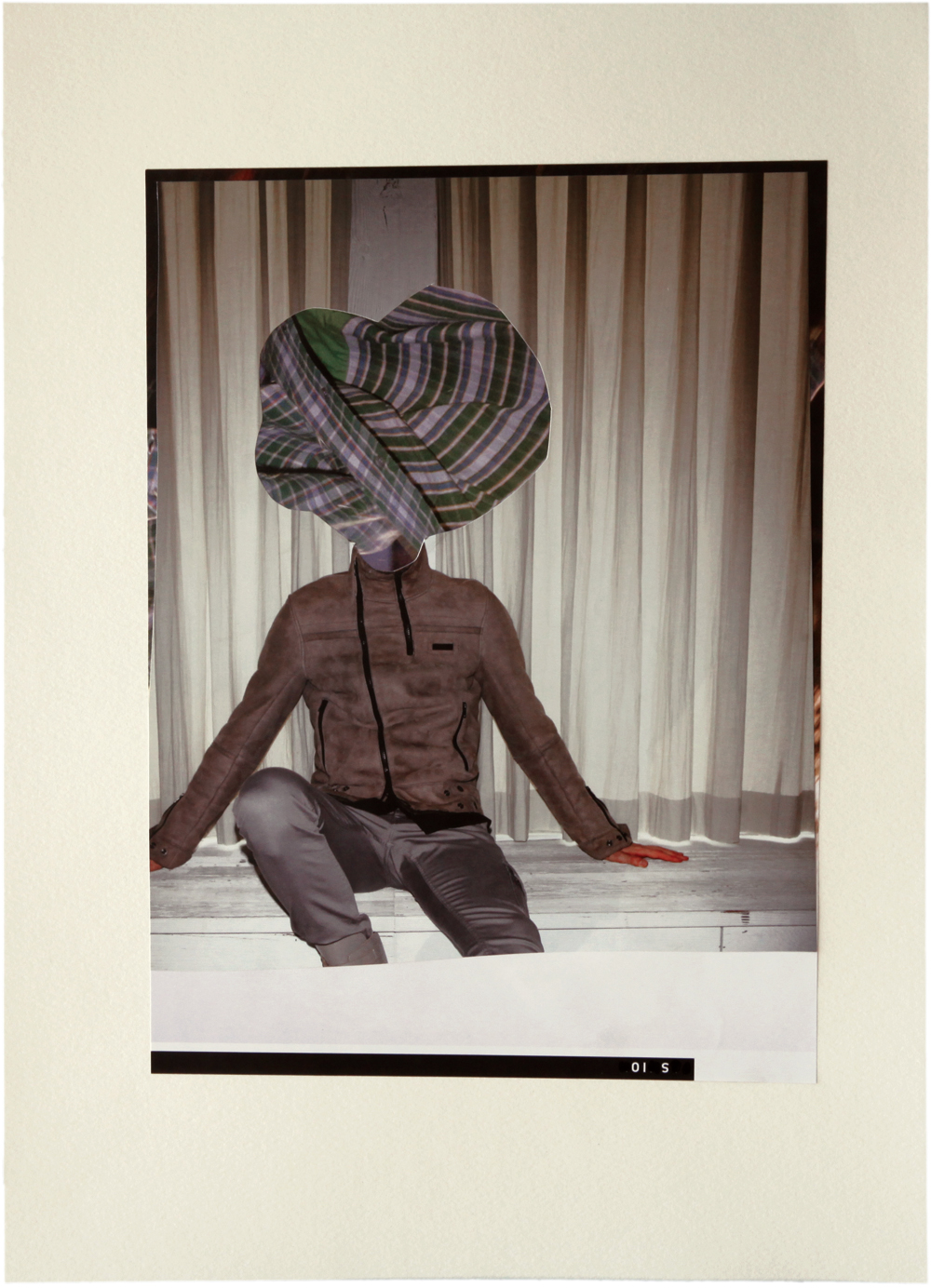 Untitled 2011 collage on pape 243mm x 325mm