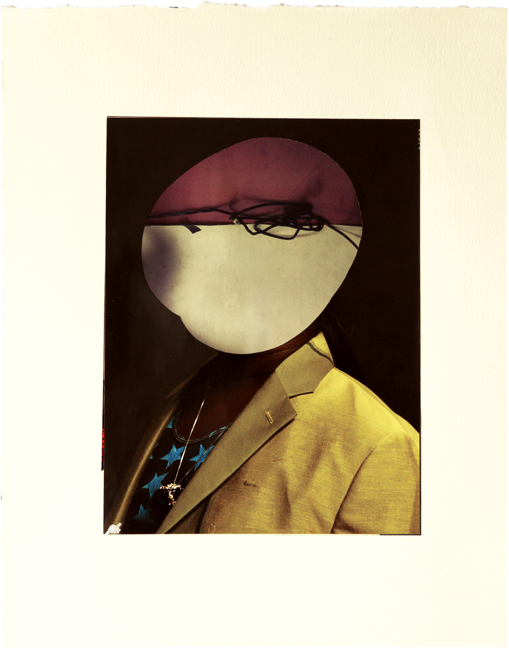 Untitled 2011 collage on pape 318mm x 410mm